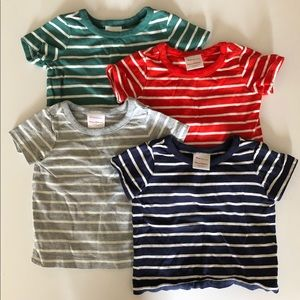 (LOT OF 4) HANNA ANDERSSON BABY TEES